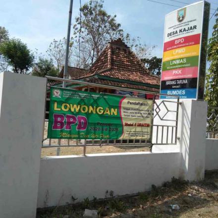 Proses Demokrasi Pemilihan Anggota BPD Desa Kajar Kecamatan Lasem Berlangsung Kondusif
